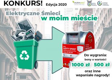 """Konkurs """"Elektryczne śmieci w moim mieście"""""""