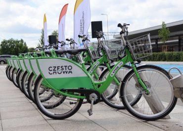 Start Częstochowskiego Roweru Miejskiego